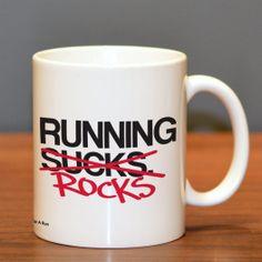 Running Rocks Ceramic Mug