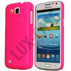 Slim Series (Sterk Rosa) Samsung Galaxy Premier Deksel
