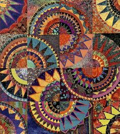 Image detail for -karen stone new york beauty quilt workshop-great color choices