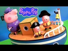 Play Doh Pirate Peppa Pig on Grandpa's Boat Muddy Puddle Bathtime Toys - Barco del Abuelo PlayDough - http://www.princeoftoys.visiblehorizon.org/videofuntoyzcollector/play-doh-pirate-peppa-pig-on-grandpas-boat-muddy-puddle-bathtime-toys-barco-del-abuelo-playdough/