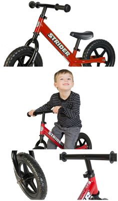 We love our Strider balance bike! One of the best ways for kids to learn to ride! They can start using this bike at just 18 months old!