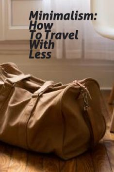 Our newest blog post Is now up Minimalism: How To Travel With Less. Follow us on journey into minimalism. You can check out our website at www.levelsofminimalism.com simple living, minimalism, minimalist, blog, blogger, blogging