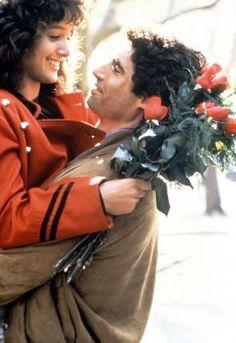 Jennifer Beals and Michael Nouri in Flashdance, T.