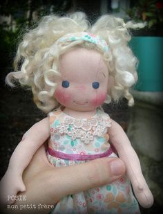 Posie-handmade doll by Mon Petit Frère | by MonPetitFrere