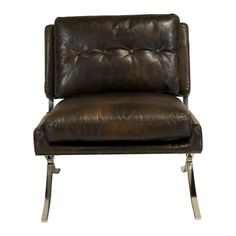 Capetown Leather Occasional Chair