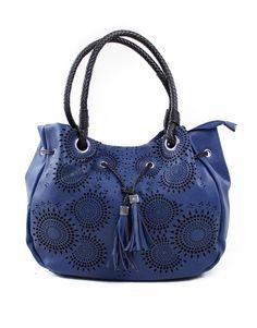 Τσάντα ώμου - Μπλε 44,99 € Handbags, Fashion, Moda, Totes, Fashion Styles, Purse, Hand Bags, Women's Handbags, Fashion Illustrations