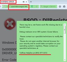 Get Rid of Usawindowsrepair.info Pop-up (Bogus Error Warning) from Computer | Blogines