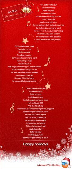 SEO X-mas Carol #SEO #Christmas #Carol