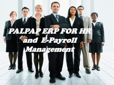 palpap erp for HR & E payroll managemant