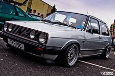 VW GTI MK2 Best in Silver #vdub #gti