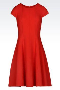 Kurzes Kleid Für Sie Armani Collezioni - KREPPKLEID Armani Collezioni  Offizieller Online Store e3620d9c01