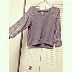 Long sleeve shirt Nice grey half sleeve shirt. Perfect for winter. Worn only 3 times. It's in perfect condition. Can fit also to people who wear a small. It's very comfy. Derek Heart Tops Blouses