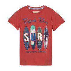 Boy's red 'SURF' t-shirt - Kids - Debenhams.com
