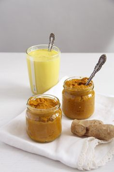 How to make turmeric paste to stir in your Golden Milk.