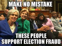 """There is no epidemic of election fraud. """"Election fraud"""" is a code phrase for disenfranchising minority voters."""