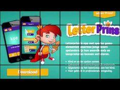Letterprins leren lezen app trailer - YouTube