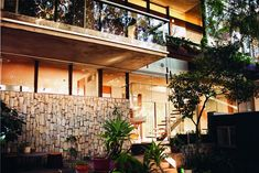 the Van der Leeuw Research House by Richard Neutra