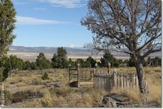 oregon ghost towns pictures | Ghost Town Cemeteries