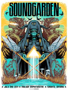 Soundgarden. Molson Amphitheatre, Toronto, ON, Canada. 07/02/2011 | Munk One