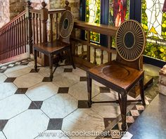Castle Howard: George III Hall Chairs