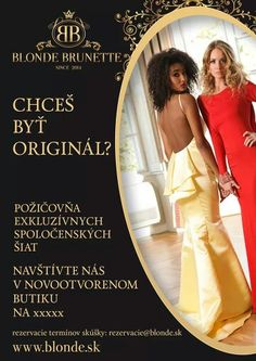 Blonde Brunette dresses