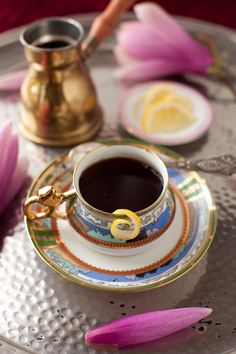 Have a cup of coffee after your meal. I did-))