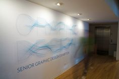 University of Illinois' senior graphic design exhibition at the Ispace Gallery in Chicago, 2009.
