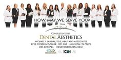 Our team here at Consultants in Dental Aesthetics!