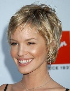 short hair with layers