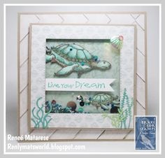 I used I Brake for Stamps By the Sea Rubber Sheet and Every Day Phrases to create this ocean themed shaker card. 9th Birthday, Happy Birthday, Kim Hughes, Flower Cart, House Mouse, Shaker Cards, 1st Christmas, Happy Saturday, Elmo