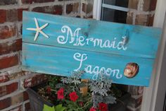 Mermaid Lagoon Sign | Catch My Party