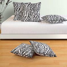 Zebra Print Cushion Cover-2802