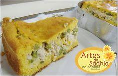 Artes da Sadhia na cozinha : Bolo salgado de abóbora Inspirado no bolo de cenouras do Mauro Rebelo