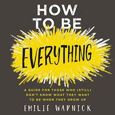 """Another must-listen from my #AudibleApp: """"How to Be Everything"""" by Emilie Wapnick, narrated by Allyson Ryan."""
