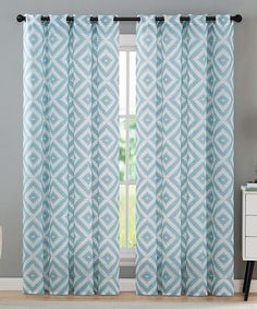 Victoria Classics Teal Emerson Curtain Panel - Set of Two Kids Bedroom, Bedroom Ideas, Emerson, Panel Curtains, Hue, Color Pop, Teal, Classic, Home Decor