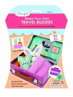 My Studio Girl Travel Buddies Kit, Bunny, Child, Play, Newborn, Game, Toy: Amazon.co.uk: Toys & Games