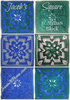 Jacob's Square Free Crochet Pattern by Jessie At Home