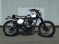 Tracker Motorcycle, Motorcycle Seats, Cafe Racer Motorcycle, Classic Motorcycle, Off Road Bikes, Chopper Bike, Moto Style, Bike Design, Scrambler