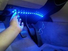 Purple led lights - interior kit for car  #CarLights