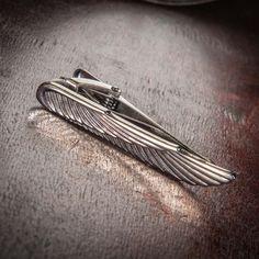 Winged Tie Clip