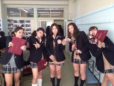 Cute Japanese school girls in classroom Japanese School Uniform Girl, School Girl Japan, High School Girls, Cute Japanese, Japanese Girl, Sexy Asian Girls, Beautiful Asian Girls, Gyaru, Short Skirts