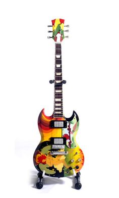 "Todd Rundgren's guitar, once owned by Eric Clapton , not to mention changed hands among a few others !!!~ The Psychedelic "" FOOL"" SG"