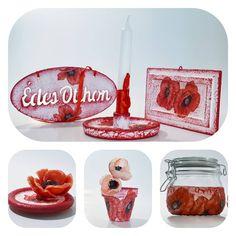 """0 kedvelés, 0 hozzászólás – special handmade decor (@biborvarazs) Instagram-hozzászólása: """"❤ Poppy love ❤ ❤ Pipacs szerelem ❤  www.facebook.com/biborvarazs  www.biborvarazs.etsy.com…"""" Place Cards, Place Card Holders, Facebook, Gifts, Etsy, Instagram, Presents, Favors, Gift"""