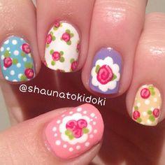 Instagram photo by  shaunatokidoki #manicure #nailart