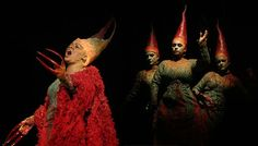 Denyce Graves as dragon (Opera: Grendel, dir.Julie Taymor, designed by Georg Tsypin -sets- and Constance Hoffman -costumes. also Eric Owens) Julie Taymor, Stage Design, Folklore, Mythology, Theatre, Blade, Opera, Dragon, Journal