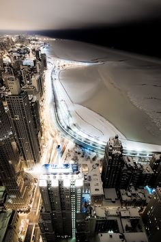 Midnight - Chicago by (John Harrison)