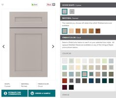 Custom color and door options with Lowe's Diamond Intrigue cabinet line