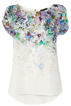 Warehouse Placement floral print top AU$46.00