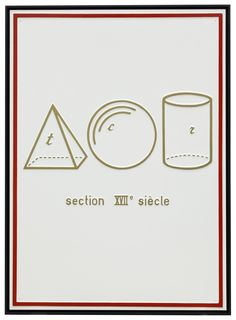 Marcel Broodthaers - 'Section XVIIe Siecle' (1970)