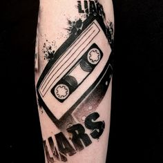 Image result for cassette tape tattoo